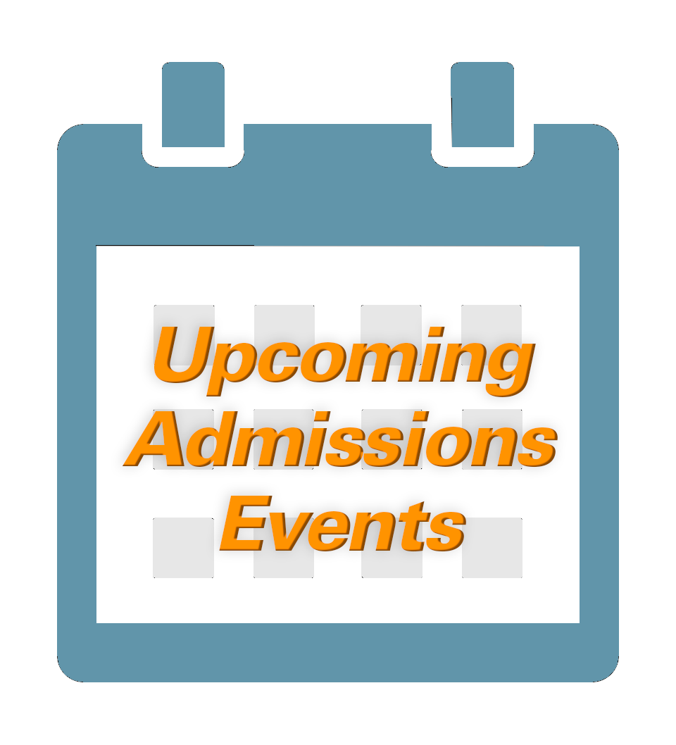 Upcoming Admissions Events