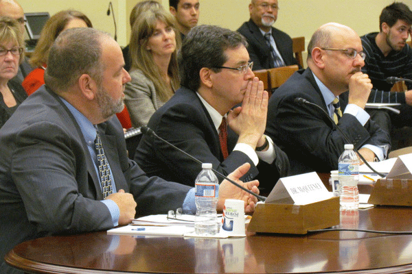 Professor Rappa testifying in Congress