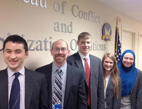 Practicum Teams Presents at U.S. State Department