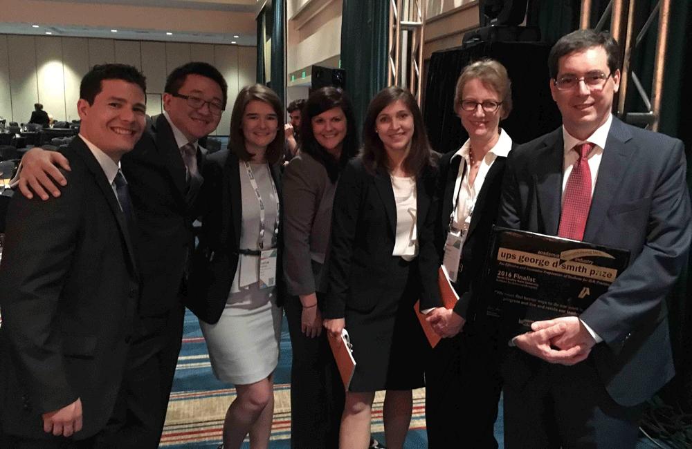 UPS George D. Smith Prize Ceremony