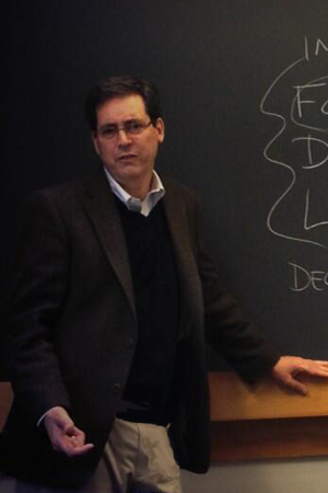 Professor Rappa lecturing at MIT