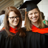 MSA 2015 commencement, Amanda and Alice
