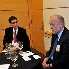 Dr. Michael Rappa and Dr. Roy Campbell