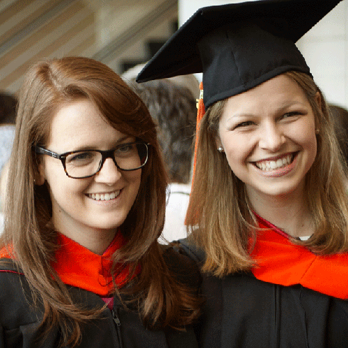 MSA 2015 Commencement, Mandy and Brianna
