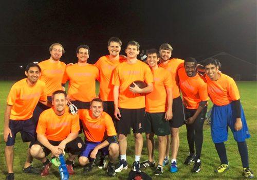 MSA 2016 Intramural Football Team