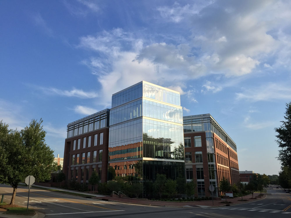 Alliance Building – Intersection of Varsity and Main Campus Drives