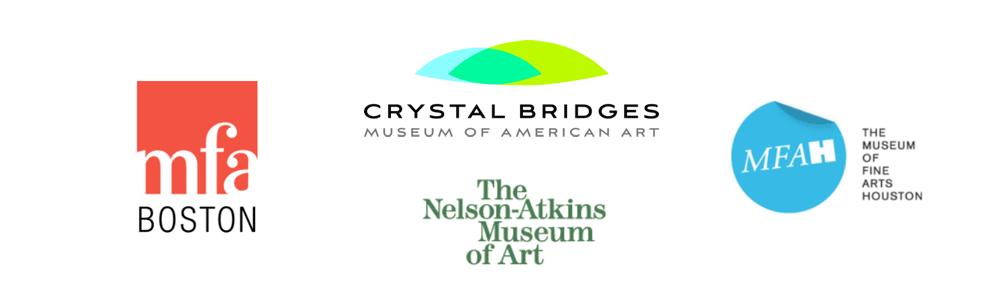 MFA Boston / MFA Houston / Crystal Bridges Museum / Nelson-Atkins Museum