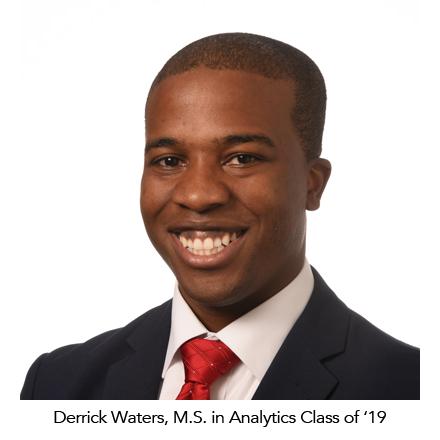 Alumni Inspire MSA '19 Candidate Derrick Waters – Master of