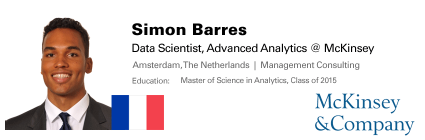 Master of Science in Analytics – Master of Science in