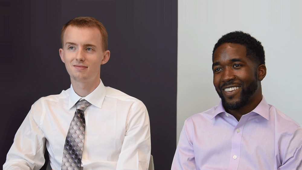 MSA Class of 2019 Orientation –Day 2: Garrett and Greg